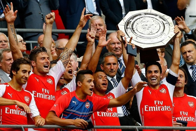 Arsenal Mikel Arteta Community Shield