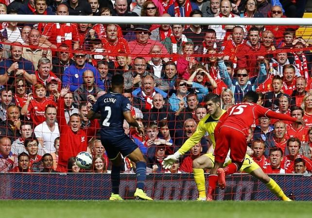 Liverpool Daniel Sturridge Southampton Fraser Forster Clyne