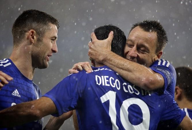 Chelsea John Terry Diego Costa Gary Cahill