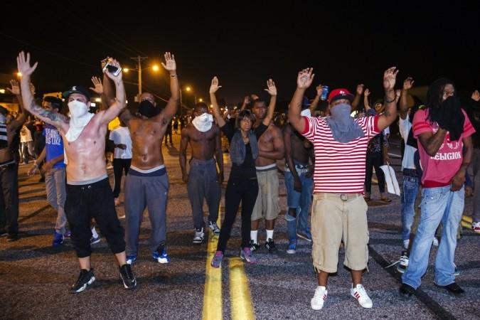 Protests in Ferguson over Killing of Black teen