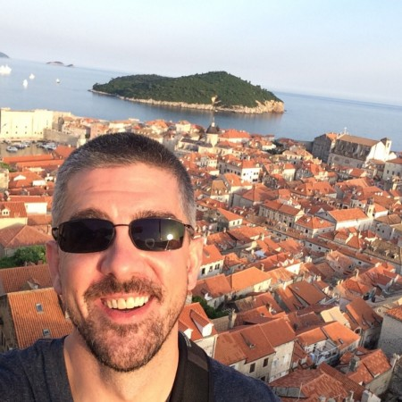 Travel blogger  Matt Long