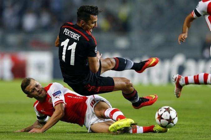 Arsenal Jack Wilshere Besiktas Mustafa Pektemek