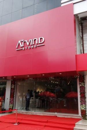 Arvind Showroom in Baroda, Gujarat