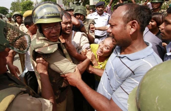 Assam-Nagaland Dispute