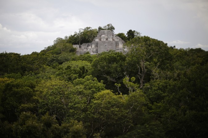 Mayan city in Mexico