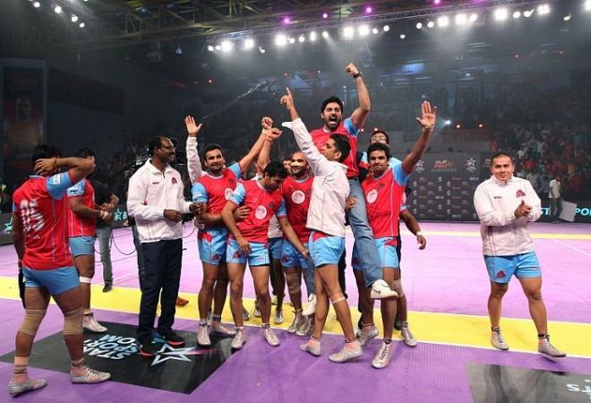 Jaipur Pink Panthers Abhishek Bachchan
