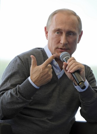 Russian President Vladimir Putin on Friday warned the west not to