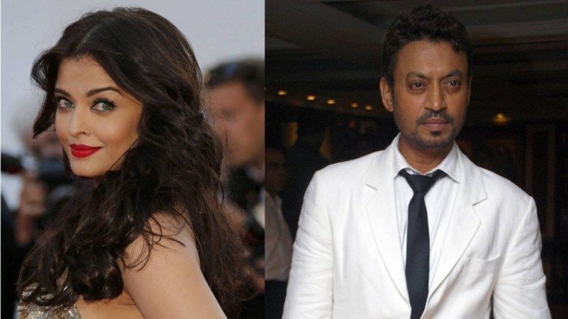 Aishwarya Rai Bachchan and Irrfan Khan