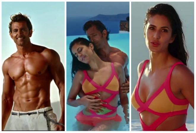 Hrithik Roshan, Katrina Kaif in 'Meherbaan' song still from 'Bang Bang'