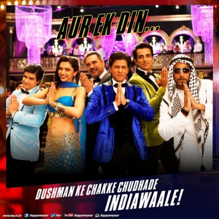 'Indiawaale' song from 'Happy New Year'