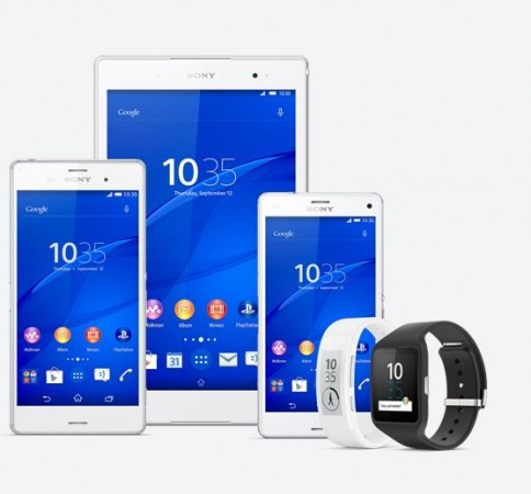 Sony Unveils New Z3 Series Xperia Smartphones, Tablet, Smart Wearables at IFA 2014