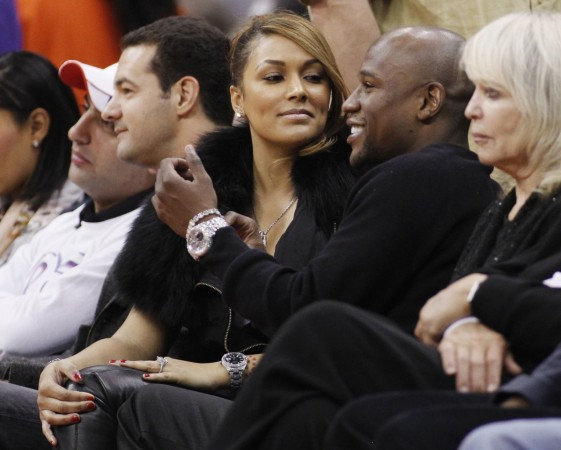 Floyd Mayweather Jr. and Shantel Jackson