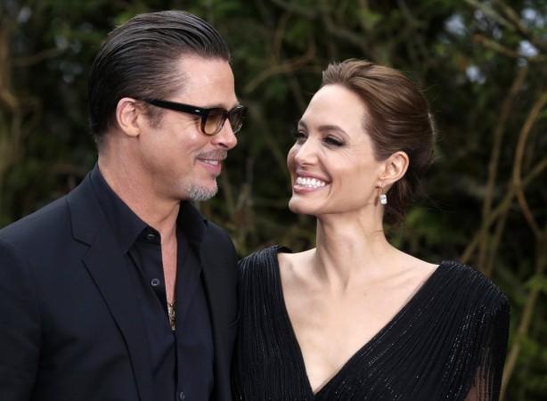 Brad Pit and Angelina Jolie