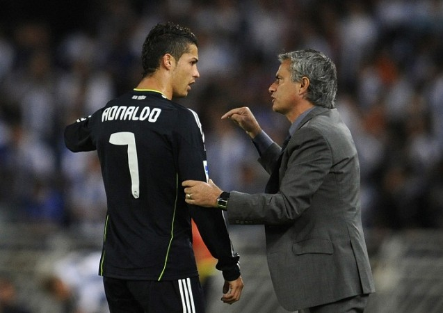Cristiano Ronaldo Real Madrid Jose Mourinho