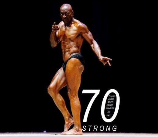 70-year-old body builder Sam