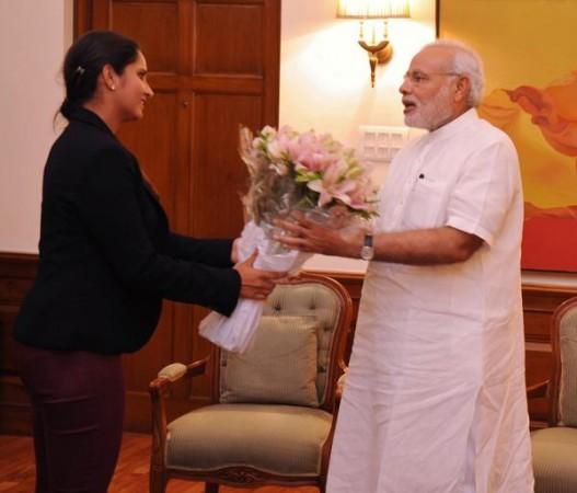 Sania Mirza Meets Narendra Modi