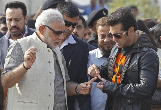Narendra Modi, Salman Khan