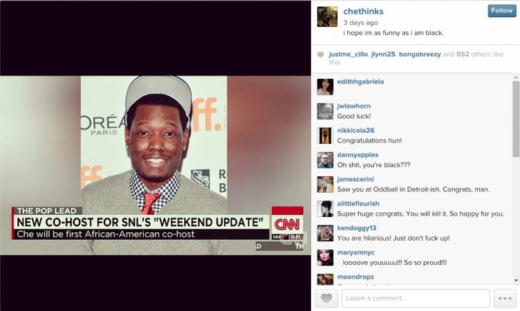 Michael Che to join Weekend Update desk