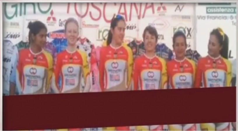 Colombian Women Cyclists' Uniform Creates Stir on Social Media