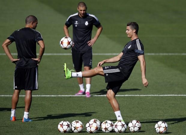 Cristiano Ronaldo Real Madrid Karim Benzema Pepe