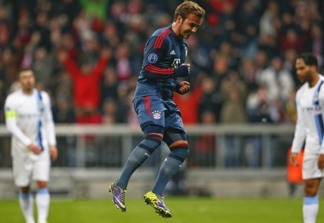 Bayern Munich Mario Gotze Manchester City