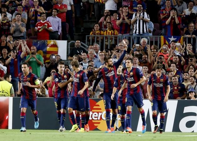 Barcelona vs APOEL