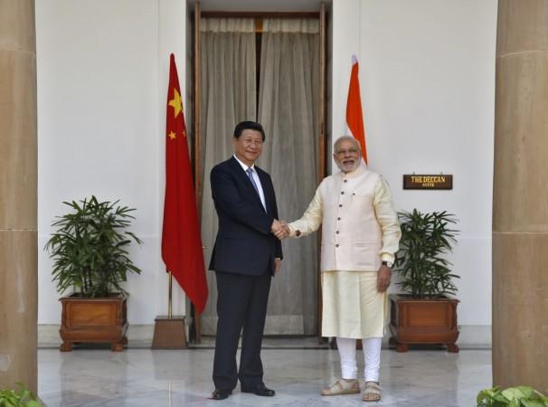Narendra Modi and China's President Xi Jinping