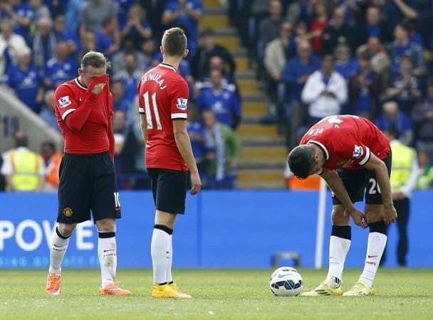 Wayne Rooney Adnan Januzaj Robin Van Persie Manchester United