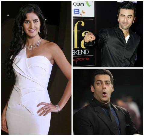 Katrina Kaif, Ranbir Kapoor, Salman Khan
