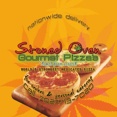 Pot induced personal gourmet pizzas