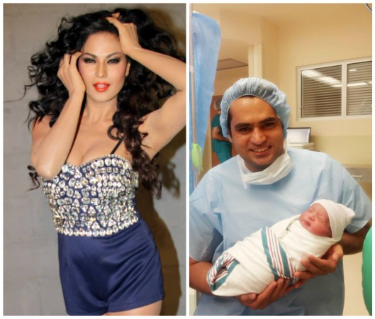 Veena Malik Follows Shah Rukh Khan, Names her Son 'Abram'