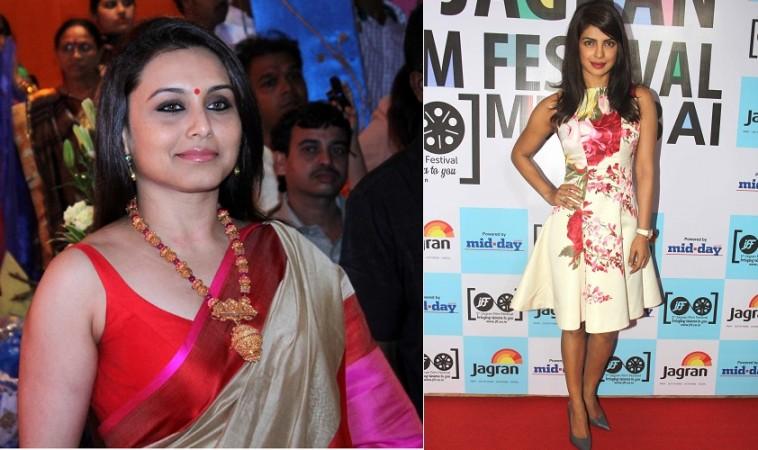 Rani Mukherji and Priyanka Chopra