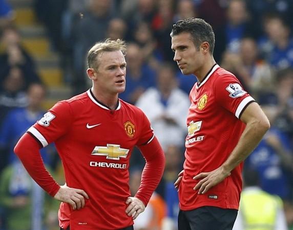 Wayne Rooney Robin Van Persie Manchester United