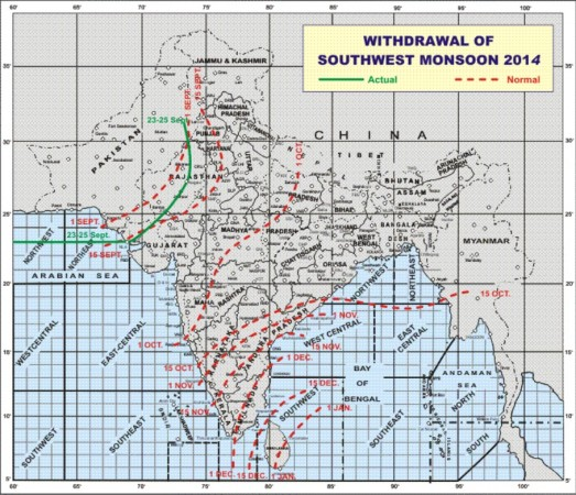 Monsoon 26 September India