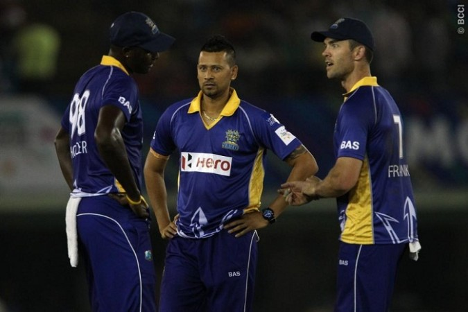 Barbados Tridents Emrit Franklin Holder
