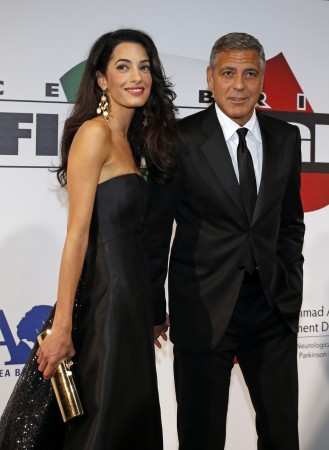 George Clooney Amal Alamuddin Venice wedding
