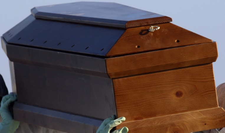 A woman's scream was heard from inside a coffin in Greece. The cancer patient was reportedly 'buried alive'.