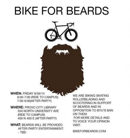 Bike for beards