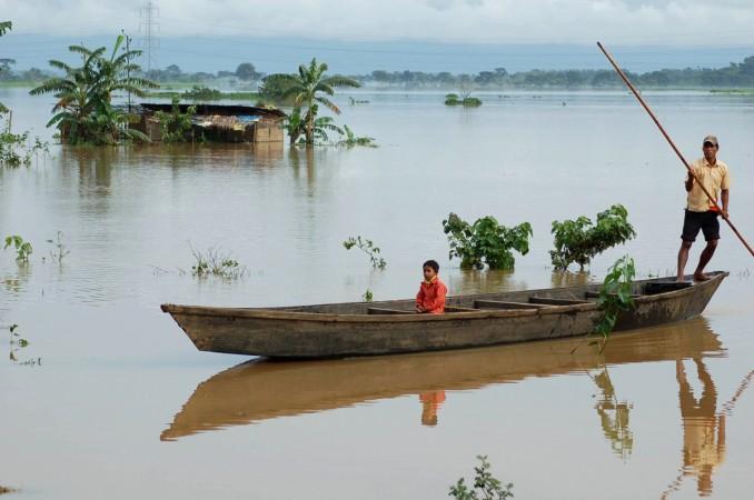 Meghalaya Flood.