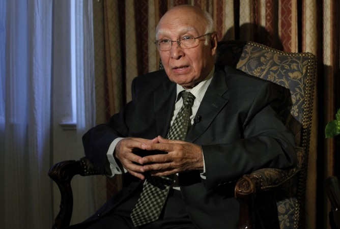 Sartaj Aziz, Pak UN dossier against India