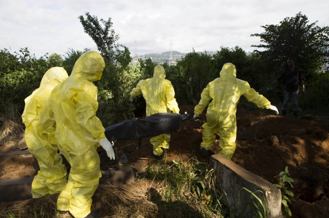 Ebola Victims rising from the dead