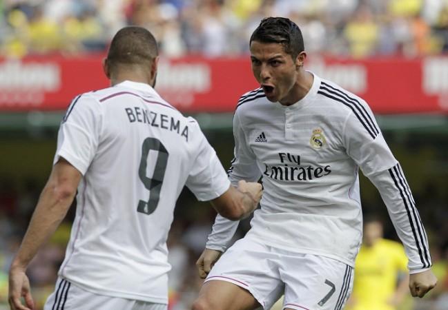 Karim Benzema Cristiano Ronaldo Real Madrid