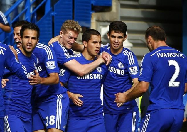 Chelsea Hazard Fabregas Schurrle