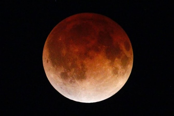 The bigger and better Blood Moon will rise on 8 October.
