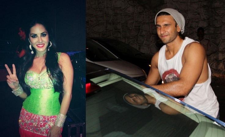 Sunny Leone Wants to go on a Date with Ranveer Singh?