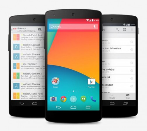 Google Nexus 6, 5, 4 Spotted Running Android 5.1 Lollipop Update; Official Roll-out to Begin Soon