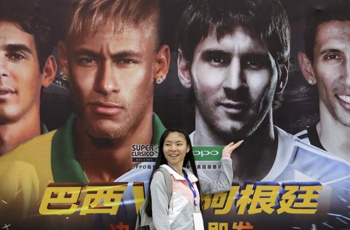 Neymar Brazil Messi Argentina