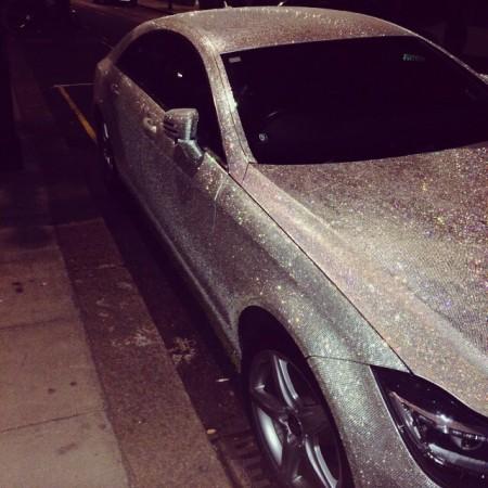 Millionaire Daria Radionova sells diamond-encrusted Mercedes on eBay