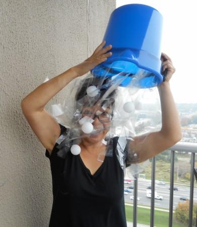 Ice bucket challenge halloween costume