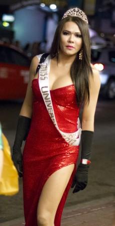 Miss Universe Halloween costume